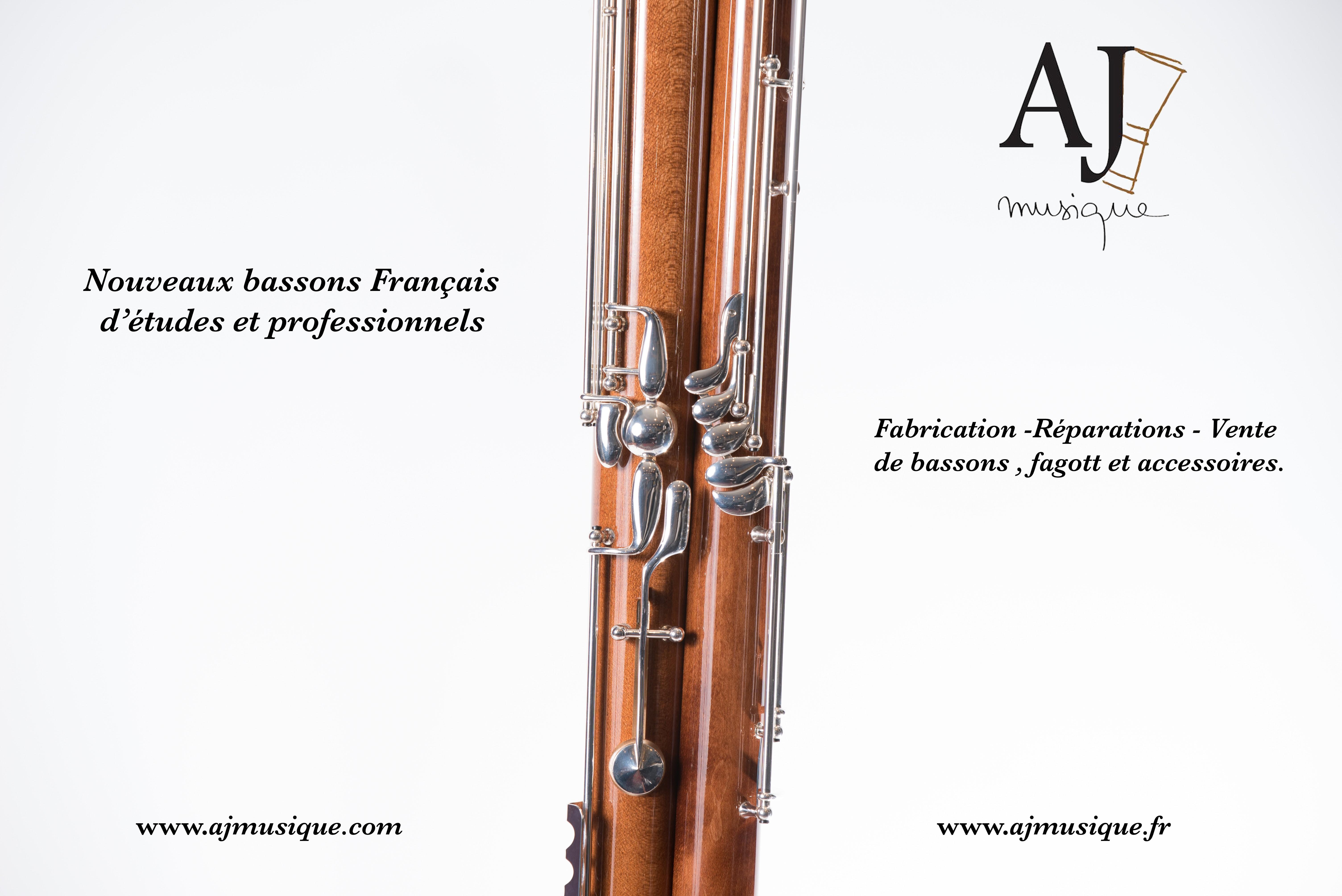 Nouveau basson modèle Orchestre